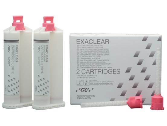 GC Exaclear cartridges 2x51g 12792 A42499 img