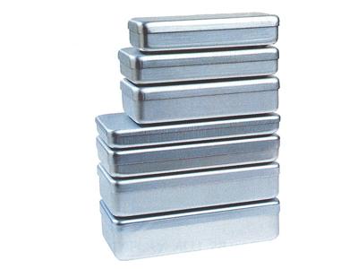 Nichrominox aluminium doos 18x9x3cm grijs 180016-1 18 img