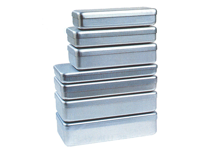 Nichrominox aluminium doos 21x10x5cm grijs 180021-1 20 img