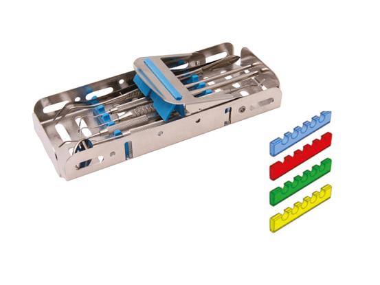 Nichrominox Easy Tray 18x7 1/4 DIN blauw 183700-2 698 img