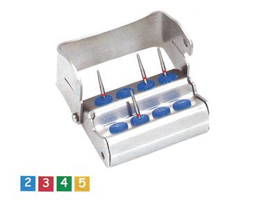 Nichrominox Ergo Plug 8 perfo blauw 190310-2 480 img