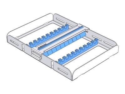 Nichrominox Flexi-Clip 10 blauw 18x13,5x2,7cm 182810-2 190 img