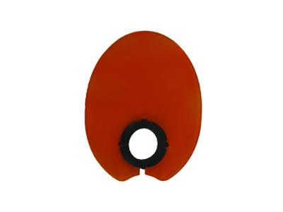 Satelec licht schild ovaal A39273 img