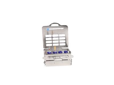 Nichrominox Endodontic houder 4-gaats A41014 img
