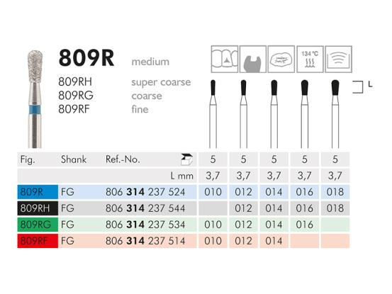 ME FG 809RG-010 diamantinstrument 1x5 A43001 img
