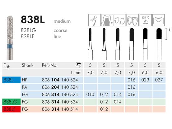 ME FG 838L-016 diamantinstrument 1x5 A03683 img