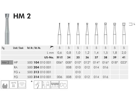 ME HP 2-027 staalboor 1x10 A42920 img