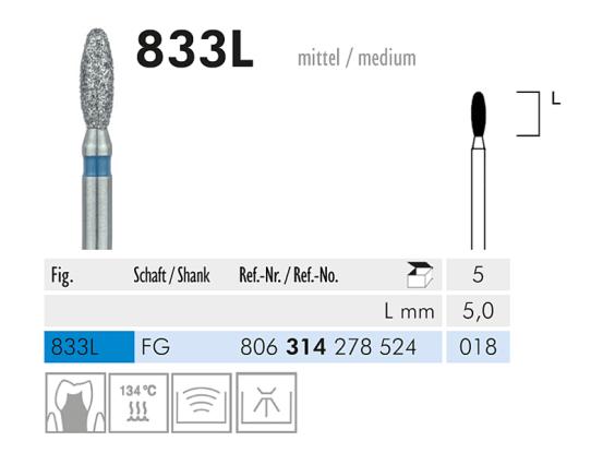 ME FG 833L-018 diamantinstrument 1x5 A32837 img