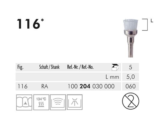 ME HP 9501P polijstpunt 1x5 A28931 img