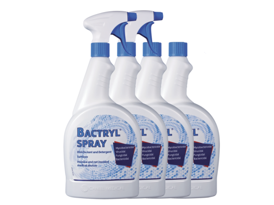 HF BACTRYL Spray 4x1000ml + 2 nozzles A43750 img