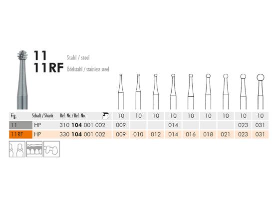 11 (RF) staalinstrument 1095 img