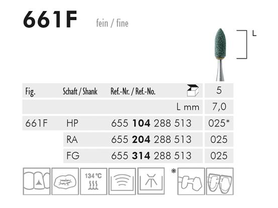 661 F slijppunt (green, fine) 1688 img