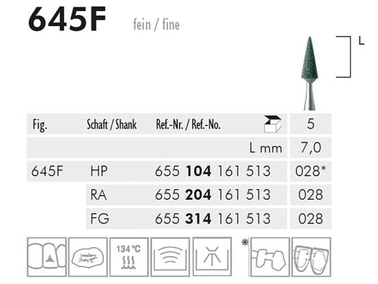 645 F slijppunt (green, fine) 1690 img