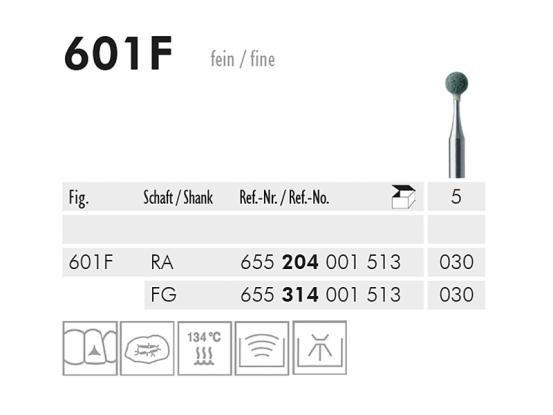 601 F slijppunt (green, fine) 1693 img