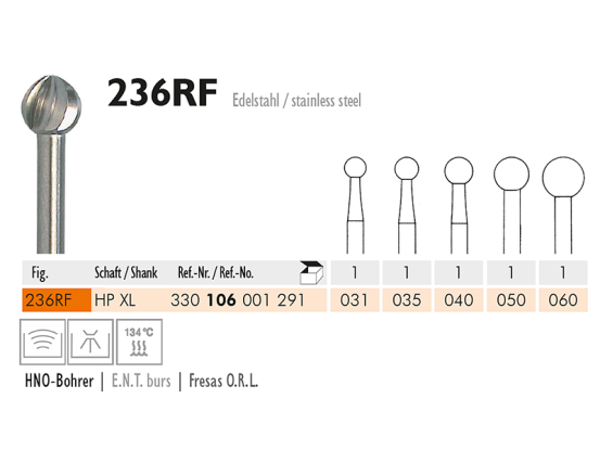 236 RF chirurgisch staalinstrument 1750 img