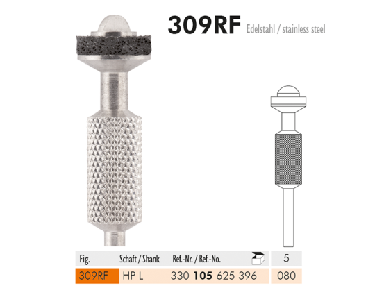 ME HPL 309RF-080 mandrel inox 1x5 A30163 img