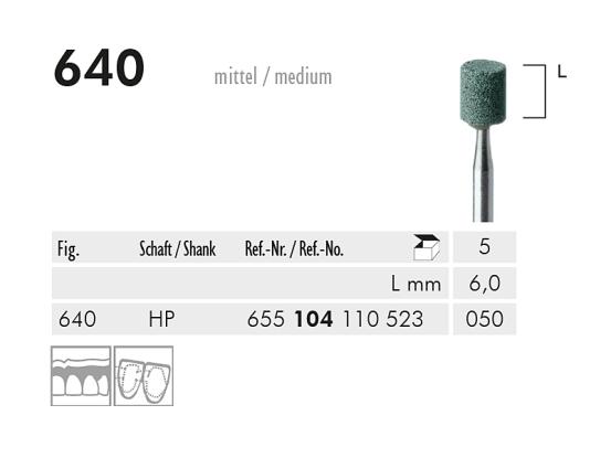ME HP 640 slijppunt gemont.groen 1x5 A31146 img