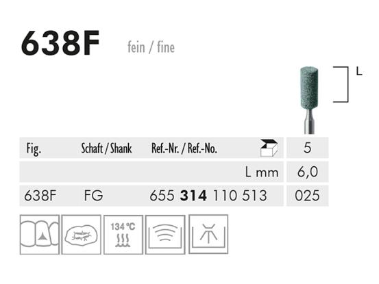 ME FG 638F slijppunt gemont.groen 1x5 A33153 img