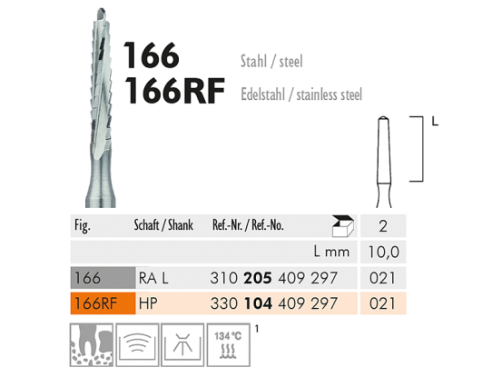 ME RAL 166-021 chirurgische frees 1x2 1522 img