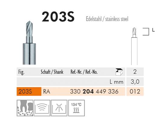ME RA 203S-012 Pilot drill 1x2 A40778 img