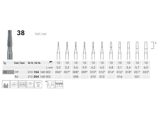 ME HP 38-007 staalboor 1x10 1098 img