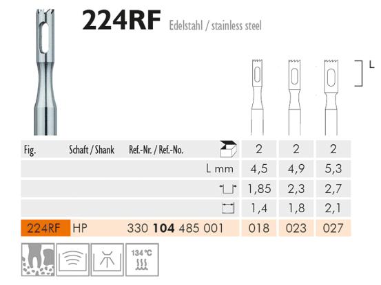 ME HP 224RF-023 trepanboor 1x2 1674 img