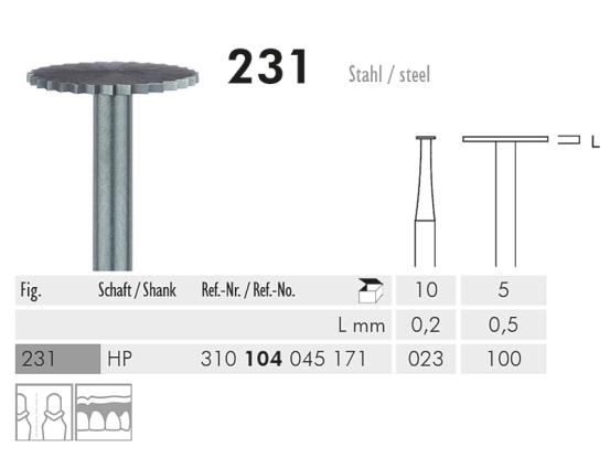 ME HP 231-100 cirkelzaag staal 1x5 1648 img
