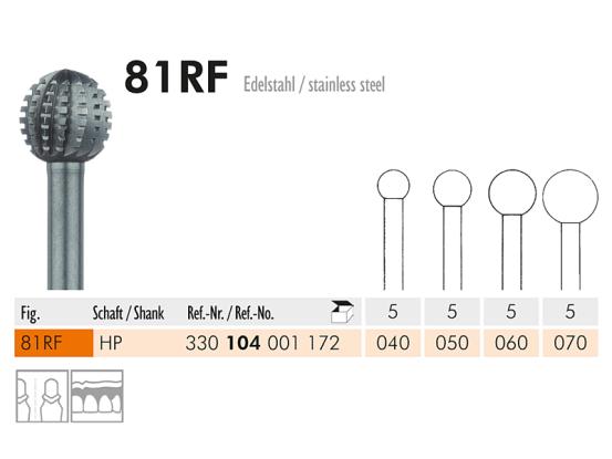 ME HP 81RF-060 staalfrees 1x5 1710 img