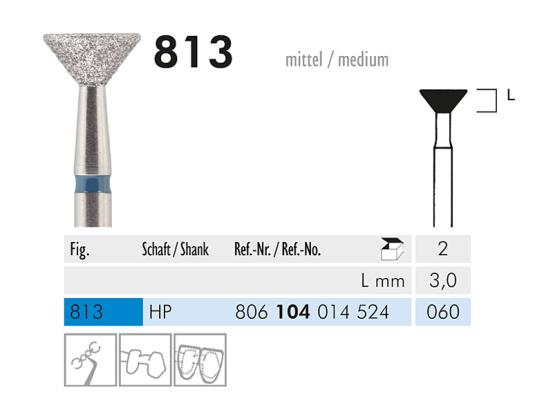 ME HP 813-060 diamantinstrument 1x2 A02884 img
