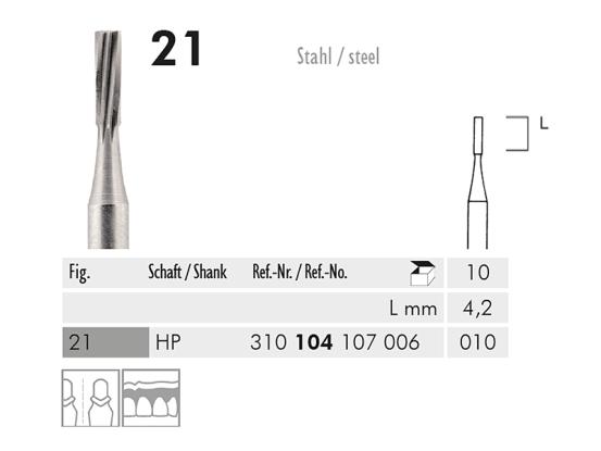 ME HP 21-010 staalboor 1x10 A05130 img
