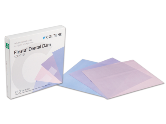 Hygenic Dental Dam Fiesta medium 127x127mm 1x52 1479 img