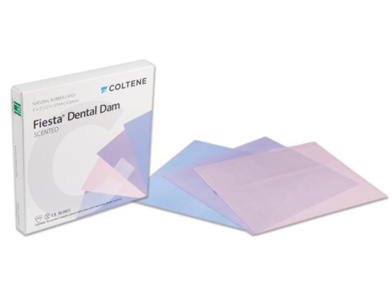 Hygenic Dental Dam Fiesta medium 152x152mm 1x364 A08064 img