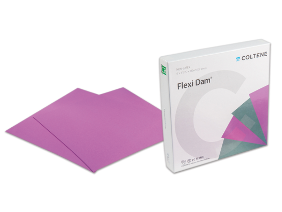 Hygenic Flexi Dam Non-Latex purple 152x152mm 1x30 A46064 img
