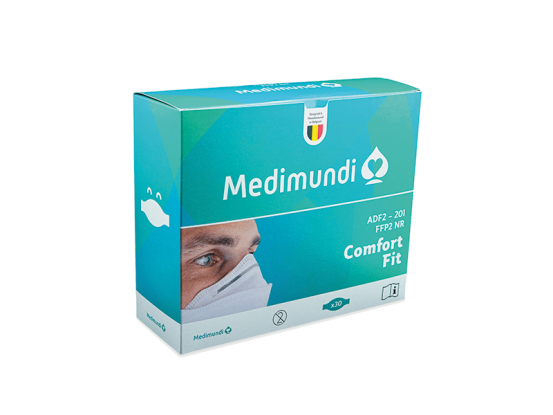 Medimundi FFP2 mondmasker made in belgium A46581 img