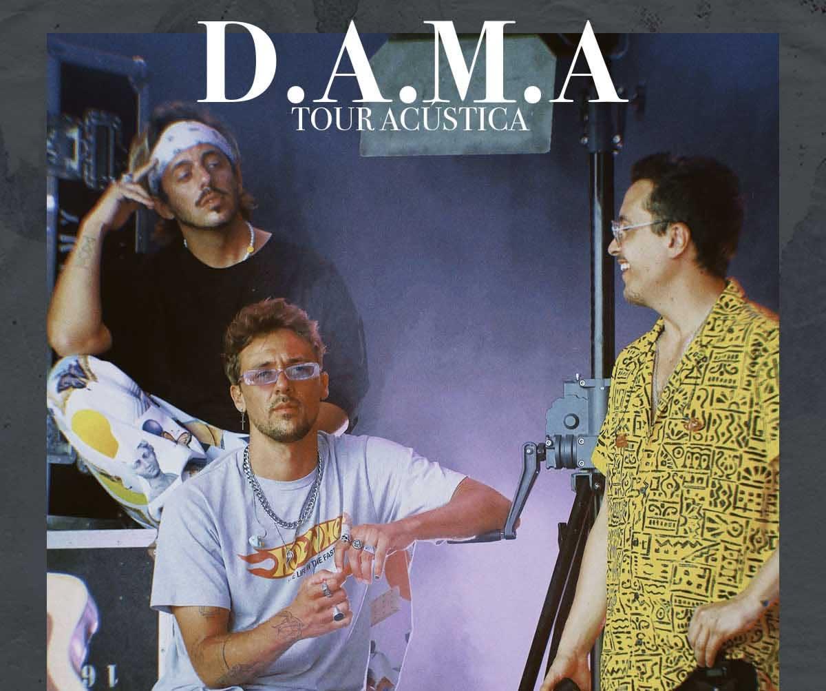 Os D.A.M.A anunciam Tour Acústico por Portugal