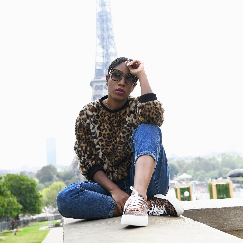 Soraya da Piedade na 1ª edição do 'Africa Fashion Up' em Paris