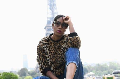 Soraya da Piedade na 1ª edição do Africa Fashion Up em Paris