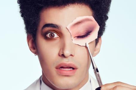 Luís Borges é o primeiro homem numa campanha de maquilhagem Louboutin