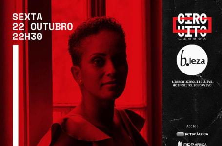 Cremilda Medina ao vivo no B.Leza Clube em Lisboa