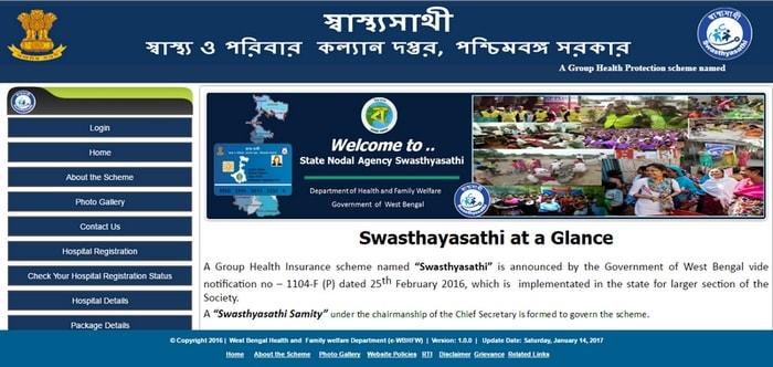 SWASTHYA SATHI HOSPITAL LIST WEST BENGAL
