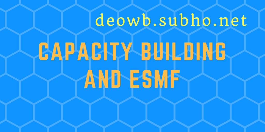 Capacity Building and ESMF