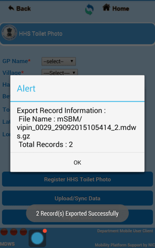 File Exported