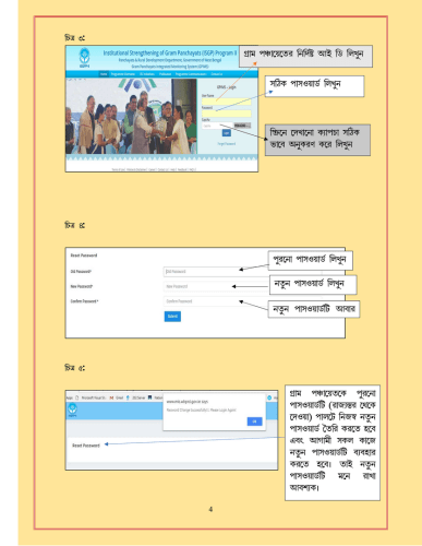 WBIMS USER MANUAL - GRAM SANSAD PROFILE CREATION 3