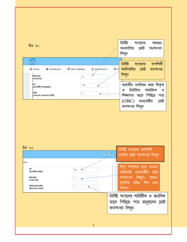 WBIMS USER MANUAL - GRAM SANSAD PROFILE CREATION 5