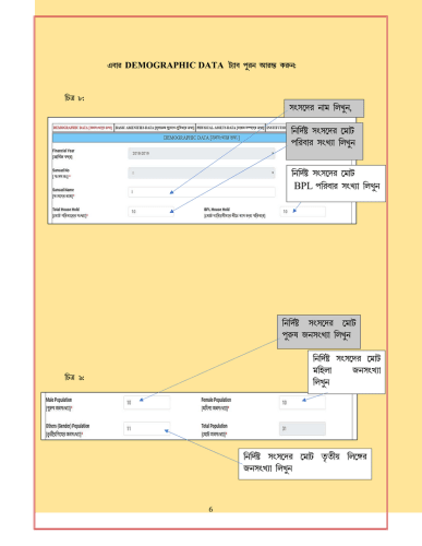 WBIMS USER MANUAL - GRAM SANSAD PROFILE CREATION 6