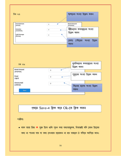 WBIMS USER MANUAL - GRAM SANSAD PROFILE CREATION 13
