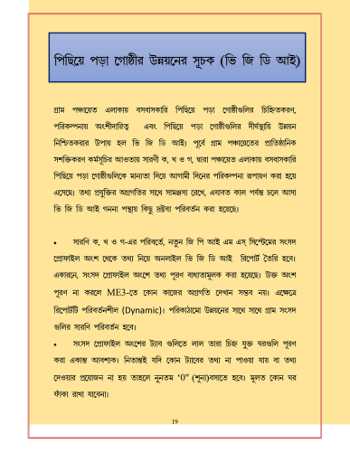 WBIMS USER MANUAL - GRAM SANSAD PROFILE CREATION 16