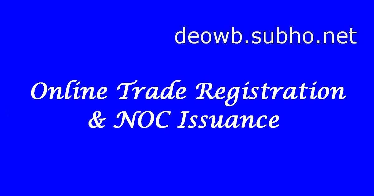 Online Trade Registration & NOC Issuance