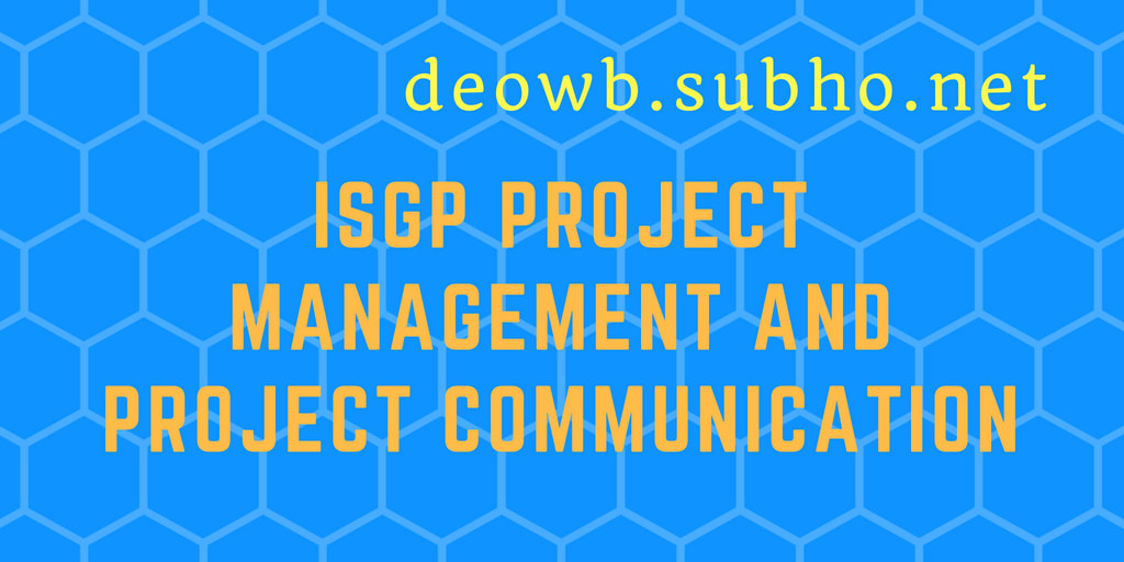 ISGP Project Management Project Communication
