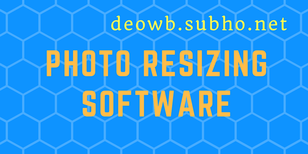 PHOTO RESIZING SOFTWARE MGNREGA